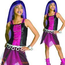 Girls Spectra Vondergeist Costume Monster High Halloween Fancy Dress Outfit