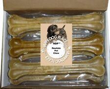 "HDP Premium Pressed Rawhide Bones 12"" Long lasting Dog chew"