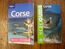 Lot de 2 livres sur la Corse