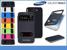 """Etui Housse Coque avec rabat-clapet """"Flip cover"""" view pour Samsung Galaxy Note 2"""