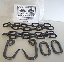1931-1937 Ford Pickup Truck Tailgate Chains, Hooks, Locks 1932 1934 1935 1936