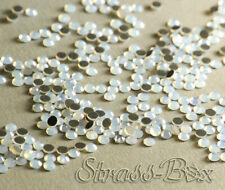 DMC Hotfix Strass White Opal Bianco ss10 numero di pezzi selezionabile a caldo