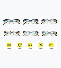 Mode lunettes de cadre carré sans lunettes de semi-cadre de la force TR90