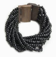 Pulsera Beads Madera Bisutería pulseras de Mujer con piedras en color