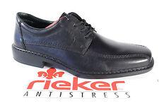 Rieker Uomo Scarpe con lacci scarpe basse scarpe uomo nero pelle B0812 NUOVO