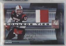 2008 Donruss Elite College Ties Jerseys Prime Memorabilia CT-22 Brian Brohm Card