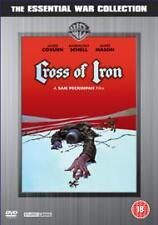 CROSS OF IRON SAM PECKINPAH JAMES COBURN JAMES MASON WARNER UK REGION 2 DVD NEW