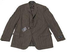 $1,395 Polo Ralph Lauren Mens Wool Herringbone Italy Sportcoat Blazer Jacket 46L