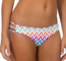 Jets Spectrum Side Rouleau Pant Bikini Swimsuit Pant Sz Aust 14 RRP $79.95