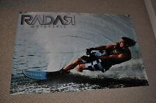 "RADAR WATERSKIS STRADA BANNER 32"" * 48"" 2 Free Stickers Decal"