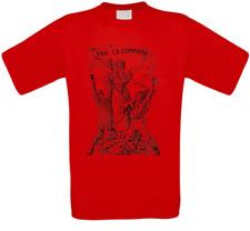 Vive la Commune Frankreich Paris France Kommune T-Shirt alle Größen NEU