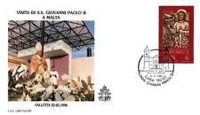 Malta 1990 Jan Pawel II papież John Paul Pope Papa Papst Giovani Paolo (90/4)