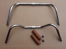 Humpert Ergotec Steel Chrome Handlebars Bicycle Traditional Retro Vintage Style