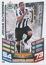 # 159 Gutierrez # Argentina newcastle united trading card match attax topps 2013