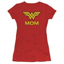 Wonder Woman Wonder Mom DC Comics Junior T Shirt