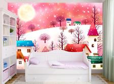 3D Luna, casa 355 Parete Murale Foto Carta da parati immagine sfondo muro stampa