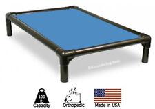 New listing Kuranda Indoor Dog Bed - Walnut Frame - Cordura Fabric - Carolina Blue
