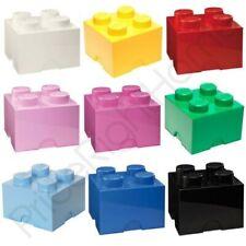 Légo stockage brique BOITE 4 boutons Enfants Chambre à coucher pour enfants