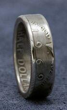 1969 JFK Kennedy Silver Half Dollar Coin Ring Unique 47th Birthday Gift 47 Years