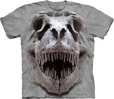 The Mountain Unisexe Enfant Gros Cr�ne De Trex T Shirt