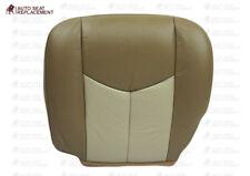 2003 To 2006 GMC Sierra& Yukon Denali Driver Or Passenger Seat Cover 2 Tone Tan