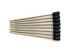 5/10 Ersatzminen PenAgain D1 67mm Kugelschreibermine mini-pen refills schw./blau
