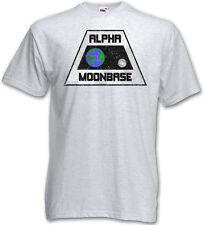 VINTAGE ALPHA MOONBASE LOGO T-SHIRT - Mondbasis Alpha 1 TV Space 1999 T-Shirt