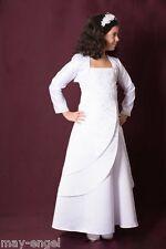 ROBE DE COMMUNION vêtements boléro veste baptême fête
