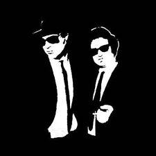 The Blues Brothers Jake and Elwood funny retro movie T shirt BlackSheepShirts