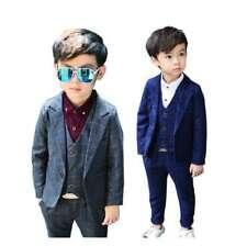Boys suit 3 Piece Prom wedding formal Baby Boy suit Wool Tweed