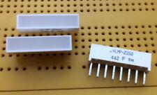 Red DEL Light Bar Indicateur 5 mm x 20 mm 45mcd 637 Presque comme neuf HLMP - 2350-EF000 Multi Qté