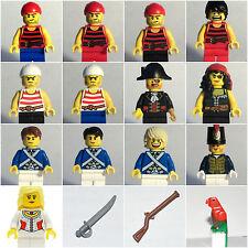 LEGO PARTS/PIECES - PIRATES/BLUECOATS/BLUE COATS/GUNS/MAP/SWORD/PARROT/RIFLE