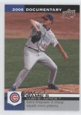 2008 Upper Deck Documentary #55 Rich Hill Chicago Cubs Baseball Card