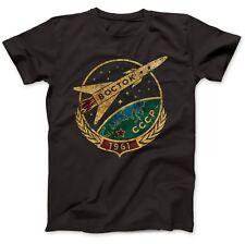 CCCP Soviet Vostok T-Shirt 100% Premium Cotton Russia Gift Present