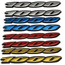 Motorcycle 3D Raise Emblem Sticker Decal for Suzuki GSXR1000 K4 K6 K7 K8 K9 L1