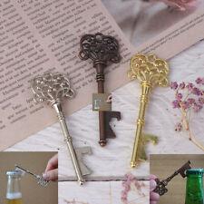 Portable Key Shape Bottle Opener Ring Keyring Keychain Metal Beer Party Bar T WL