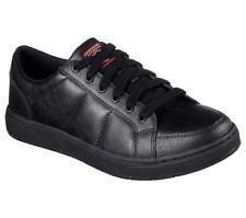 Skechers for Work 77128 Mens Watab Shoe Black