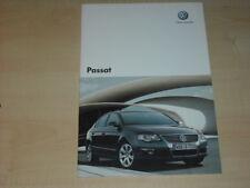 35218) VW Passat Tschechien Prospekt 2006