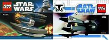 2x LEGO Star Wars The Clone Wars Grievous Starfighter + Geierdroide 8033 + 30055