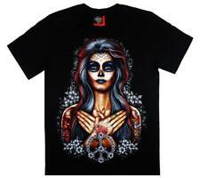 DTO. -20% ! Camiseta Chico Manga Corta Peace Man Catrina - ROCK EAGLE -