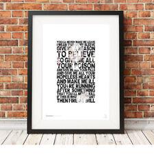 MY CHEMICAL ROMANCE ❤ Gerard Way ❤ MCR lyrics poster art prints Thank Venom #22