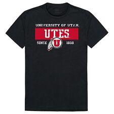 University of Utah Utes NCAA College Cotton Graphic Tee T-Shirt - Sz S - 2XL
