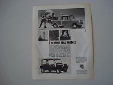 advertising Pubblicità 1966 MINI TRAVELLER / MINI MOKE