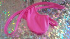 Mens Hot Pink G string nylon stretch spandex s m l or xl Custom Made in USA