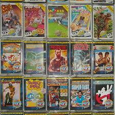 *** Vintage 1980's Sinclair ZX Spectrum Juegos *** Gratis Reino Unido Envío ***