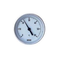 WIKA Bimetallthermometer, waagerecht mit Alugehäuse und CU-Schutzrohr Thermomer