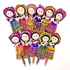 Worry Doll Write Pens Peru Guatemala Fair Trade Mayan Artisan Handmade with LOVE