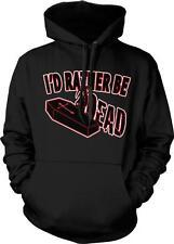 I'd Rather Be Dead Grim Reaper Horror Film Nerd Geek Movie Buff Hoodie Pullover