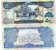 SOMALILAND Billet 500 SHILLINGS 2011  PNL NEW NOUVEA NEUF UNC