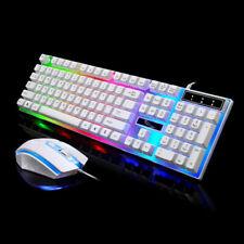 Adaptateur clavier souris pour PS4 / PS3 / Xbox One et 360 Gaming Rainbow White